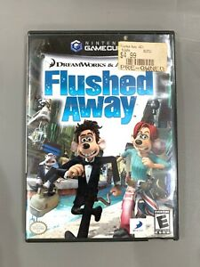 Flushed Away (Nintendo GameCube, 2006) Complete Tested & Working CIB