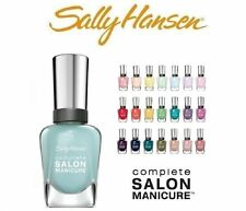 Lot of 10 Sally Hansen Salon Manicure Nail Polish No Repeat 10 Different Colors