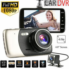 GPS Dual Lens Camera HD Car DVR Dash Cam Video Recorder G-Sensor Night Vision B