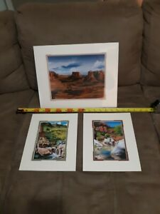3 Arizona Lithographs Art By Douglas E. Andrews All 3 Are Signed.