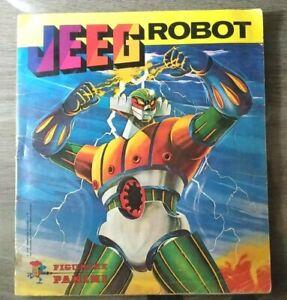 Album Panini JEEG ROBOT  completo - 1979 Vintage