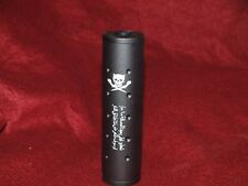 """Stubby Killer 110mm 4.3"""" Barrel Extension for Airsoft AEG 14mm CW CCW"""