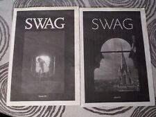 SWAG Magazine - New York Artists - Issues #1 And #2 - Very Rare - 2010 + 2011