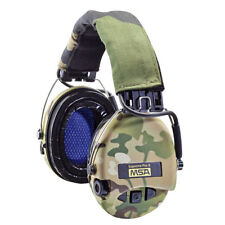MSA Sordin Supreme Pro-X - with LED, Camo Headband, Camo Cups and Gel Earseals