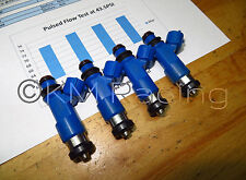 4x Subaru 950cc Top Feed Fuel Injectors: Flow Tested & Cleaned