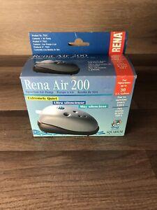 Rena Air 200 Aquarium Air Pump - Brand New