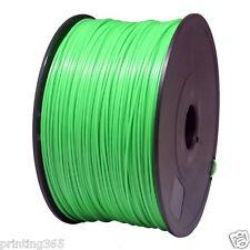 Grün ABS Filament für 3D Drucker Printer 1,75 mm 1kg Spule Trommel Rolle in Grün