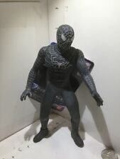 "Bandai Spiderman 3 Pvc Vinyl Action Figure Black Costume 6.7"" + Tag"