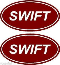 SWIFT CARAVAN MOTORHOME STICKERS CHOICE OF COLOURS CAN BE MADE ANY IN SIZE *3