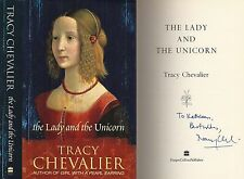 Tracy Chevalier - The Lady and The Unicorn - Signed - 1st/1st