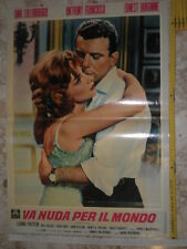 Locandina film - VA NUDA PER IL MONDO con G. Lollobrigida & A. Franciosa - 1961