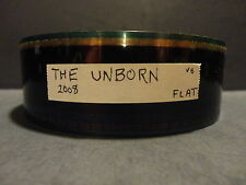 THE UNBORN  35mm Movie Trailer 2009  USED FLAT  2min 30secs  Horror