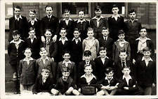 Manchester. Ducie Avenue Central 1934 Form 4 Comm. School Group.