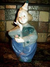 Vtg Porcelana De Cuernavaca Mexico Clown Figurine