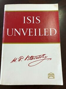 Isis Unveiled, by Helena Blavatsky