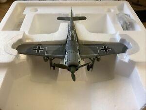 Franklin Mint Armour 1:48 Focke Wulf FW 190 Luftwaffe WW2 Aces # 98079
