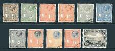 Pre-Decimal Used 3 Number British Colony & Territory Stamps