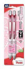 Pentel Pink BCA EnerGel Pearl Deluxe RTX Liquid Gel Pen, 0.5mm, Fine Line, Tip