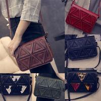 Retro Ladies Women Shoulder Bag Adjustable Cross Body Handbag Messenger Satchel