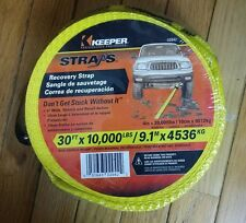 "Keeper  30' x 4"" Recovery Vehicle Strap #02942 *NEW*"