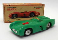 Norev 1/43 Scale Vintage Plastic - 12 Mercedes Benz Competition Green #2