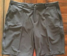 NWOT DUNNING Men's Players Fit 4-Way Stretch Golf Shorts Size 40, Black