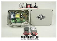 Neco Remote Control System Roller Shutter Door With 2 Transmitters/  Garage Door