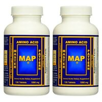 MAP Master Amino Acid Pattern MUSCLE BUILDER PROTEIN 2 Bottles - 240 Tablets