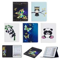 PU Leather Magnetic Cute Flip Stand Cover Case For iPad 2/3/4/5/6/ Mini1/2/3 GB