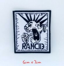 Rancid American punk rock band Embroidered Iron on Sew on Patch #1371