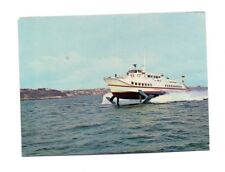 Hydrofoil Condor I - Jersey to Guernsey - Ferry Postcard