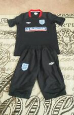 England football kit for children size 11-12 years