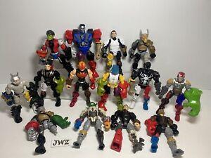 MASSIVE - Hasbro Superhero  Mashers Job Lot - Bundle - 14 Figures