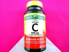 NATURAL ORANGE FLAVOR CHEWABLE VITAMIN C 500 MG DIETARY SUPPLEMENT 60 TABLETS