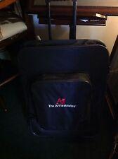 Art Institute Artist Wheeled Rolling Portable Portfolio Bag & Supplies 32x24x4