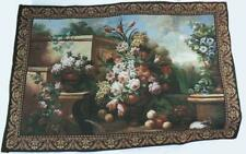 """Vintage Grecian Urn Tapestry Jacquard Woven Tapestry 54""""x38"""""""