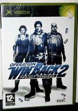 Operation Winback 2 Projekt Poseidon Xbox Neu Versiegelt Neu Sealed Eng / Eng UK