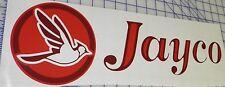 2- Jayco Decals Popup Decal Pop Up Camper - Burgundy/red