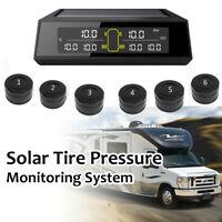 Pro Auto Lkw TPMS Reifendruck Kontrollsystem Solar Power W/6 Externe Sensor