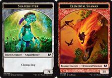 Token - Shapeshifter // Elemental Shaman X4 (Commander 2015) MTG (NM) *CCGHouse*