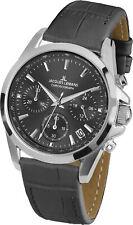 Jacques Lemans Women's 1-1863ZA Sport Gray Dial Leather Watch