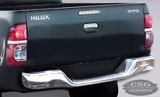 TOYOTA HILUX TIGER (97-05) SR UTE Chrome Rear Bumper Nudge Step Bar w/ brackets