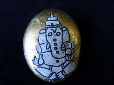Ganesh Altar Stone Amulet For Worship & Gratitude to the Hindu God of Success