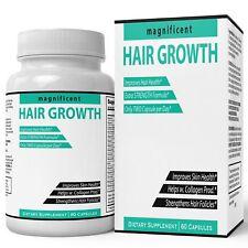Hair Growth Vitamins Formula Extra Strength | Potent Biotin and Bamboo Extrac...