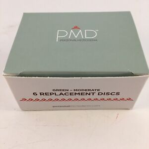 PMD Personal Microderm Moderate Replacement Discs 6 pieces #1203 Face & Body NIB