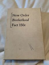 New Order Brotherhood Tape Cassette FACT 150c - With Insert - Peter Saville