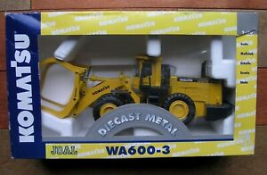 Komatsu WA600-3 Wheel Loader Model In 1:50 Scale By JOAL NIB