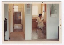 PHOTO ANCIENNE COULEUR Homme Man Gay Interest 1973 Asiatique Cuisine