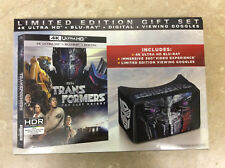 TRANSFORMERS THE LAST KNIGHT 4K ULTRA HD / BLU RAY LIMITED EDITION GIFT SET