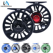 Maxcatch AVID Reel 1/3 3/4 5/6 7/8 9/10WT CNC Machined Aluminum Fly Fishing Reel